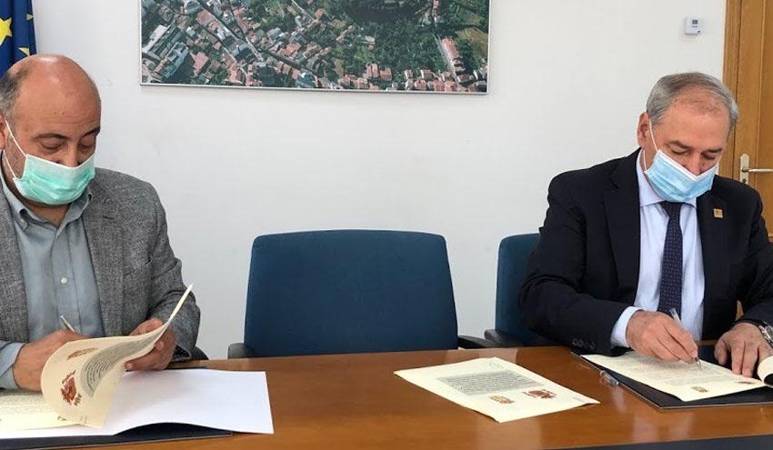CHMS y Concello de Monforte de Lemos firman un protocolo de colaboración
