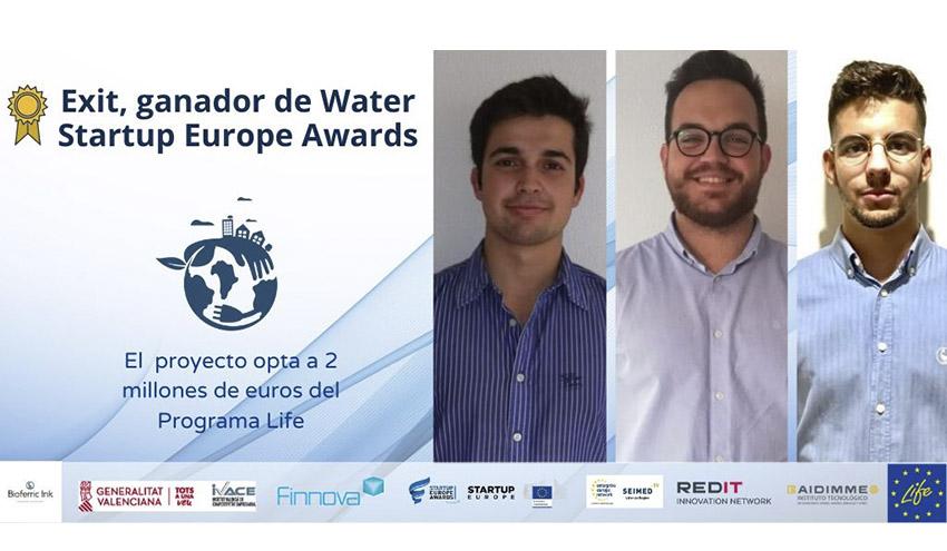 La Startup Bioferric, ganadora del Accelerathon IVACE Water Startup Europe Awards