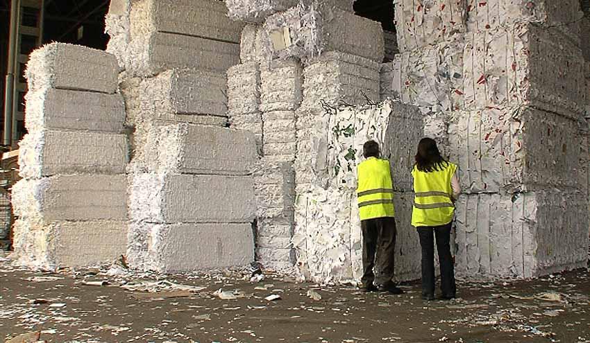 Cada español reciclará una media de 1,8 kilos de papel y cartón en Navidad