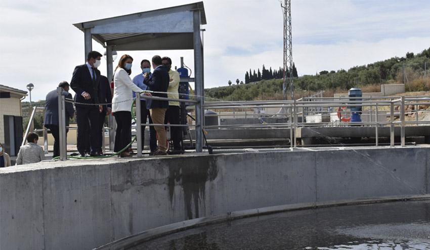 La Junta de Andalucía desplegará este año 50 licitaciones en materia de agua en la provincia de Jaén
