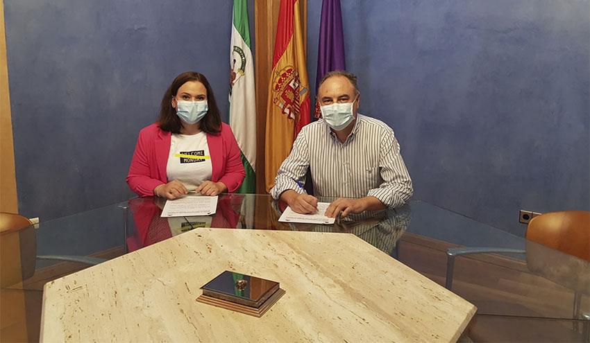 Aqualia y el Ayuntamiento de Jaén seguirán ayudando a hogares con dificultades a pagar los recibos del agua