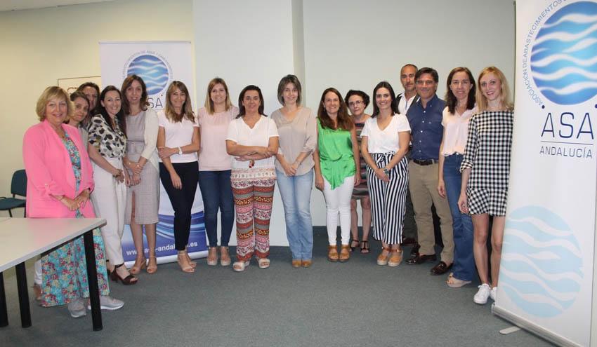 ASA Andalucía impulsa nuevos grupos de trabajo en áreas clave en la gestión del ciclo del agua