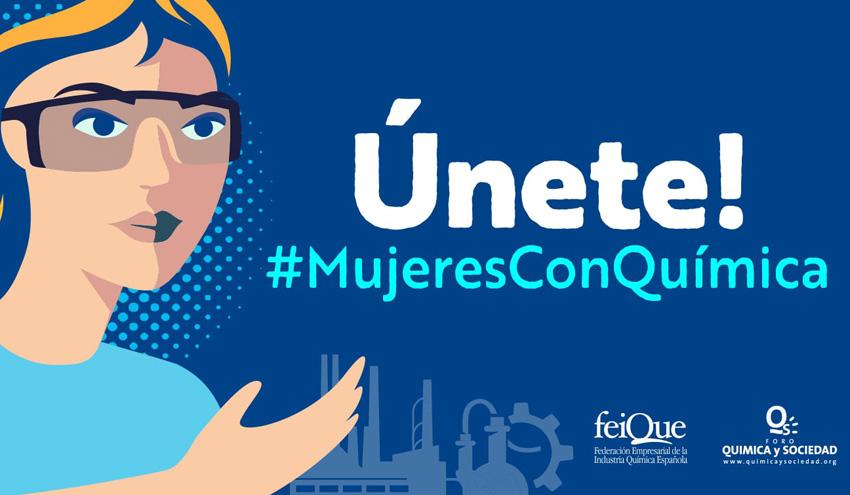 Foro Química y Sociedad y Feique y lanzan la iniciativa #MujeresConQuímica