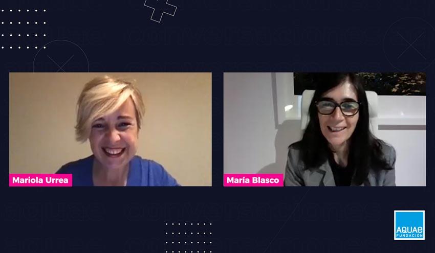 María Blasco (CNIO) habla sobre Ciencia e Igualdad en 'Conversaciones Aquae'