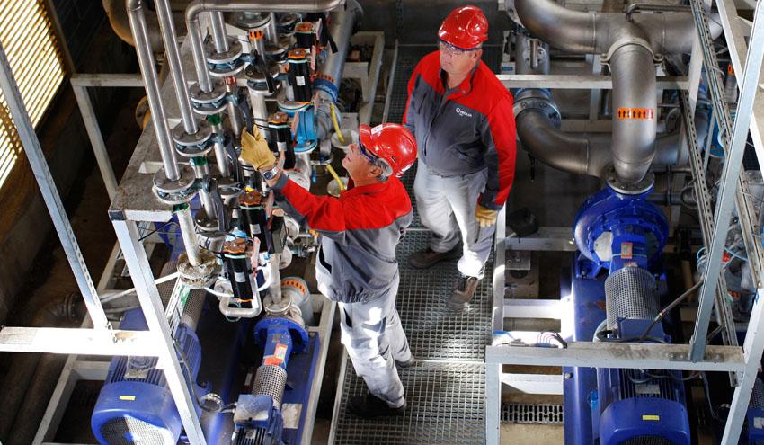 Veolia produce más de 30 millones de metro cúbicos de agua potable en España