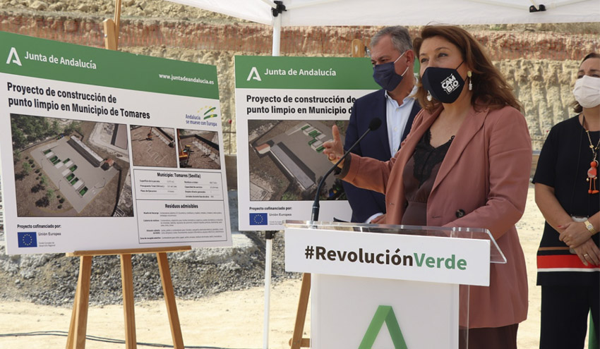 La Junta de Andalucía destina más de 12,6 millones para el desarrollo de 18 puntos limpios