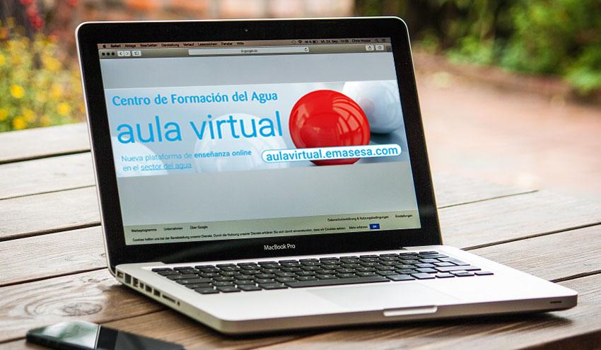 Emasesa abre su aula virtual con la convocatoria de tres cursos