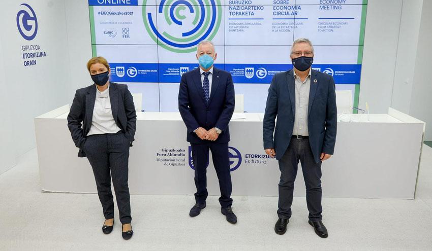 Gipuzkoa reunirá a los líderes nacionales e internacionales en torno a la Economía Circular