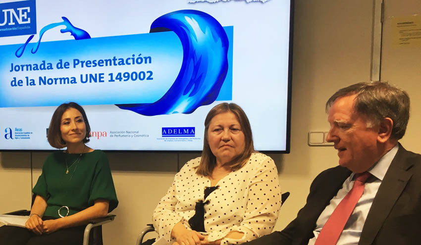 AEAS participa en la presentación de la norma UNE sobre productos desechables por el inodoro