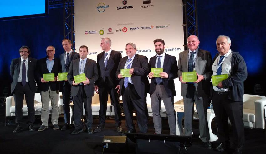 GASNAM reconoce las iniciativas más destacadas en el impulso del gas renovable para movilidad