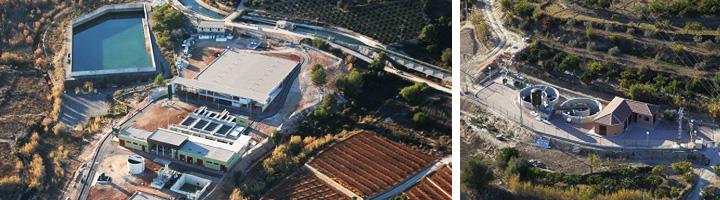 Ferrovial inaugura dos nuevas plantas de tratamiento de agua en Valencia y Murcia