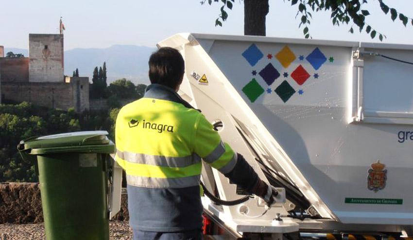 Granada alberga un proyecto de recogida dinámica de residuos urbanos