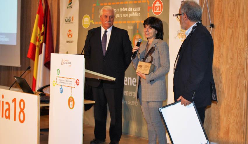 El Ceder-Ciemat recibe el Premio 'Fomenta la Bioenergía 2018' de mano de Avebiom