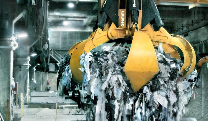 Tersa instala un innovador sistema para medir los residuos del foso de su Planta de Valorización Energética