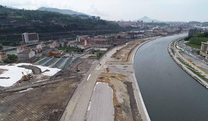 Convenio de colaboración para las obras de los depósitos de inundación de Zorrotzaurre