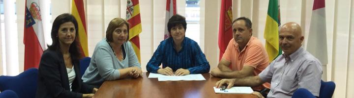 Acuaes impulsa el proyecto de mejora de los regadíos de Fuentes de Ebro en Zaragoza