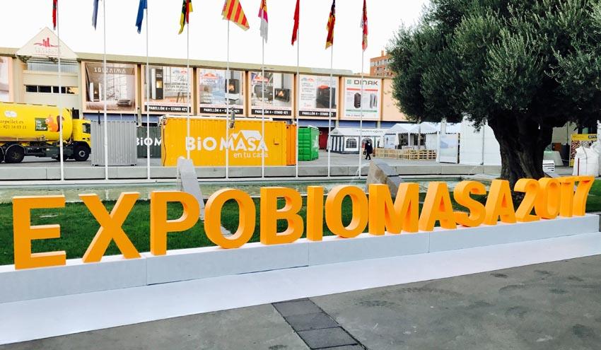 El 80% del espacio expositivo de Expobiomasa 2019 ya ha sido reservado por empresas de 12 países