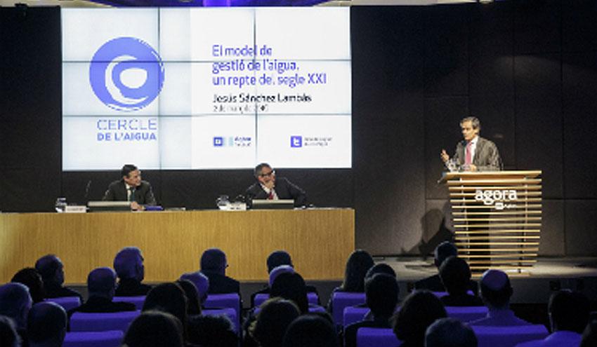 """Jesús Sánchez Lambás: """"El siglo XXI es el de la cooperación público-privada en la gestión del agua"""""""