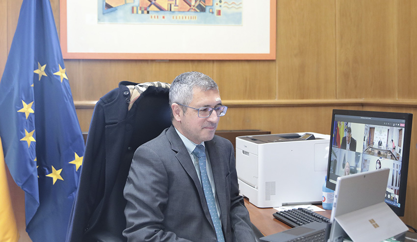 Firmado el convenio para la ejecución de diversas actuaciones de saneamiento y depuración en Poio y Sanxenxo