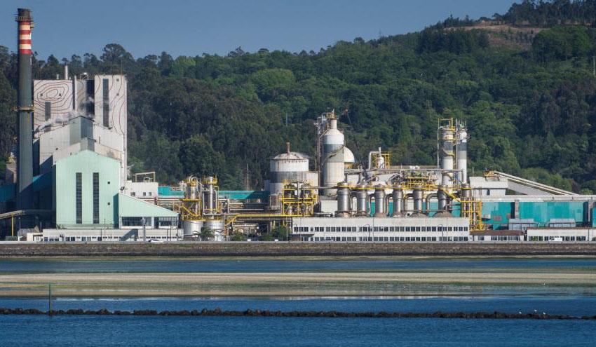 Ence destinará 61 millones de euros a mejoras medioambientales en su fábrica de Pontevedra