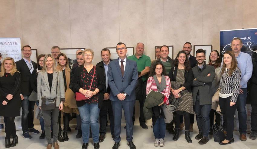 VALUEWASTE reúne a 17 socios en torno a la valorización de los residuos orgánicos en Murcia