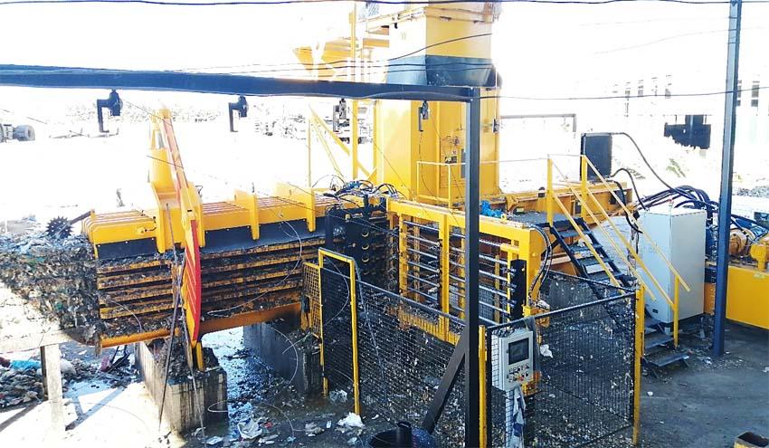 IMABE IBERICA suministra de nuevo sus prensas al Centro de Tratamiento de Residuos de Salamanca