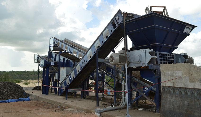 Cizalla Rotativa SPR RS, un equipo robusto y versátil para la trituración de residuos