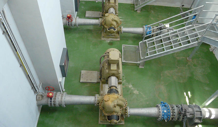 La Mancomunidad de los Canales del Taibilla mejorará la eficiencia energética en la impulsión de Bullas II