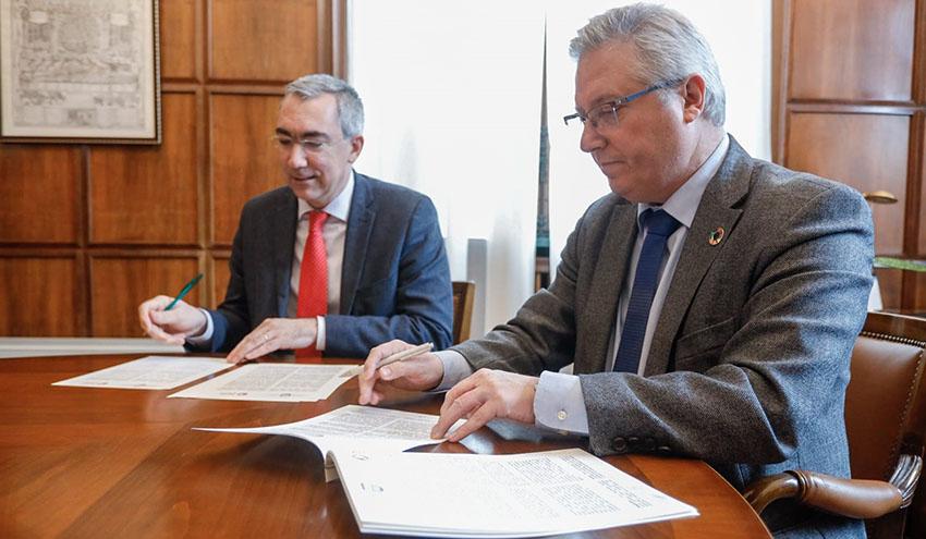 Acuerdo para impulsar el desarrollo de simbiosis industrial entre empresas de Gipuzkoa