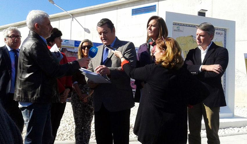 Las obras de mejora del abastecimiento del Plan Écija alcanzan el 93% de ejecución