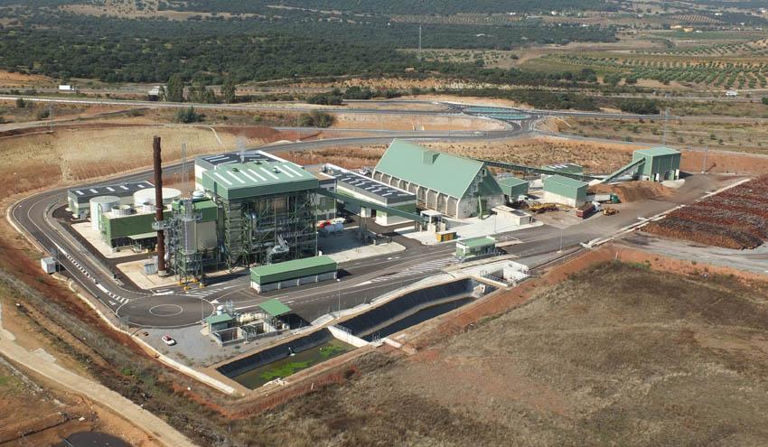 SENER construirá la nueva planta de generación eléctrica con biomasa de ENCE en Puertollano