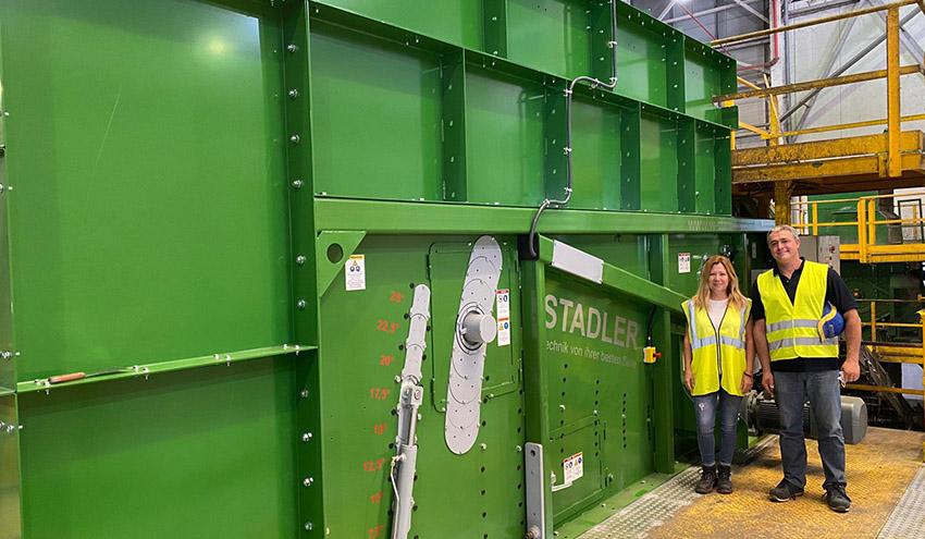 STADLER hace historia con la fabricación de su separador balístico número 1000