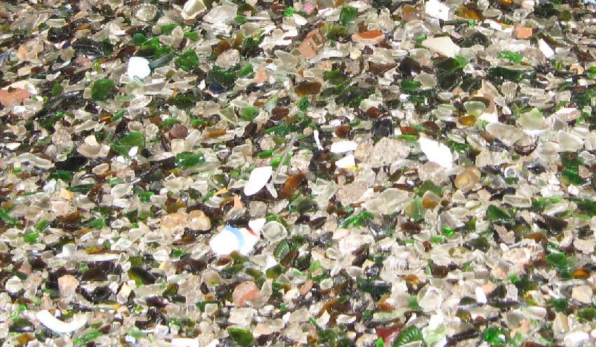 Sogama licita la recuperación del vidrio con punto verde de la fracción de inertes