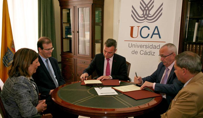 ASA Andalucía y la UCA colaborarán en materia de investigación y transferencia de conocimiento