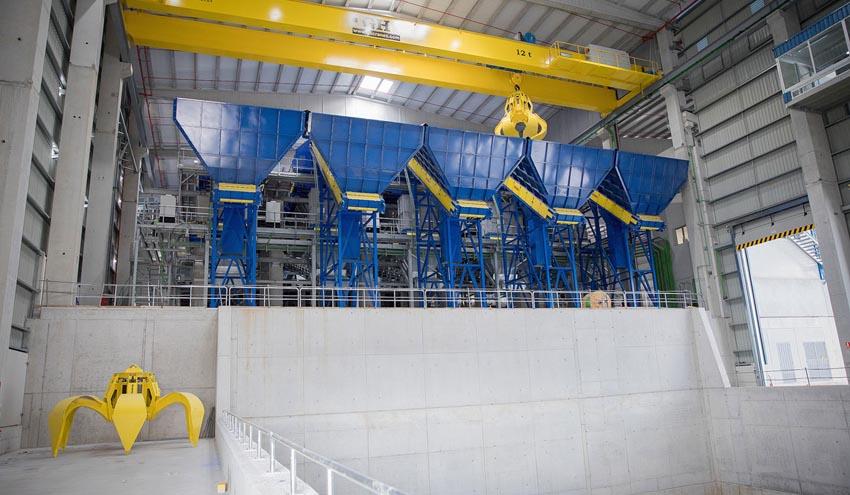 GH Cranes suministra dos puentes grúa deúltima generación para la nueva planta de Sogama