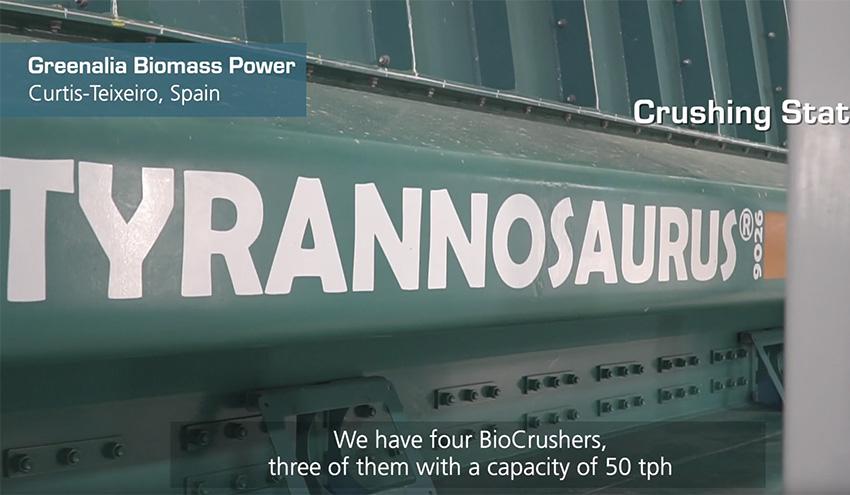 La tecnología de trituración de BMH en la planta de biomasa de Greenalia