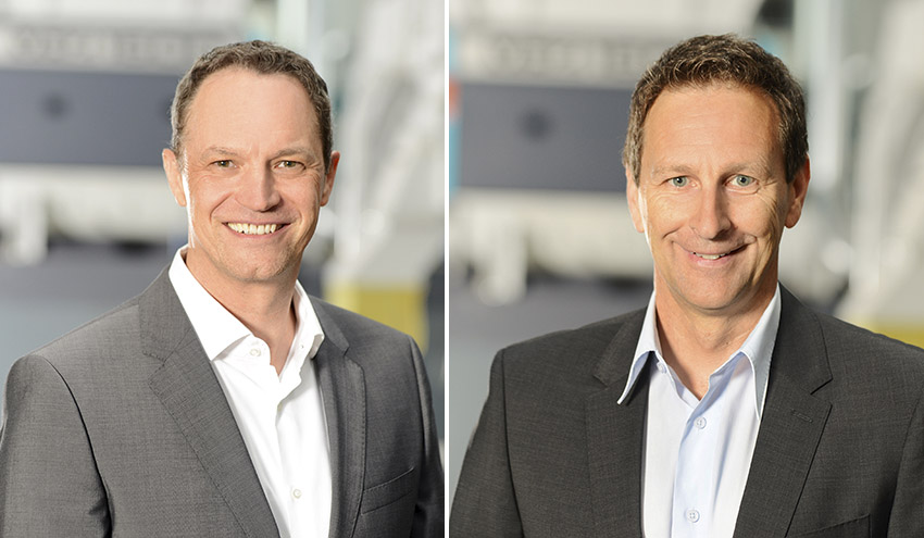 Andreas Jung y Jochen Pfeil se ponen al frente de las áreas de tecnología y posventa de Vecoplan AG