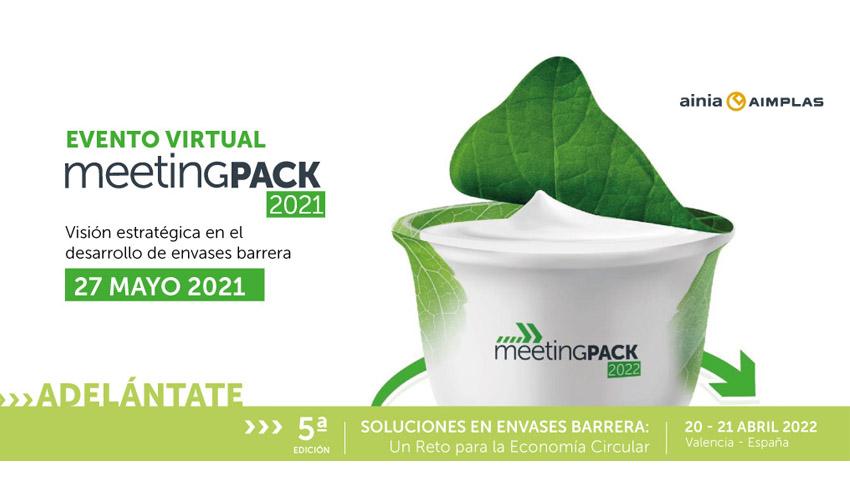 Sostenibilidad y materiales reciclados en envases, temas principales de MeetingPack virtual 2021