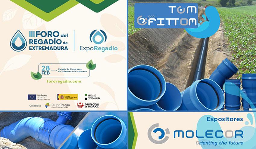 Molecor, presencia destacada en ExpoRegadío