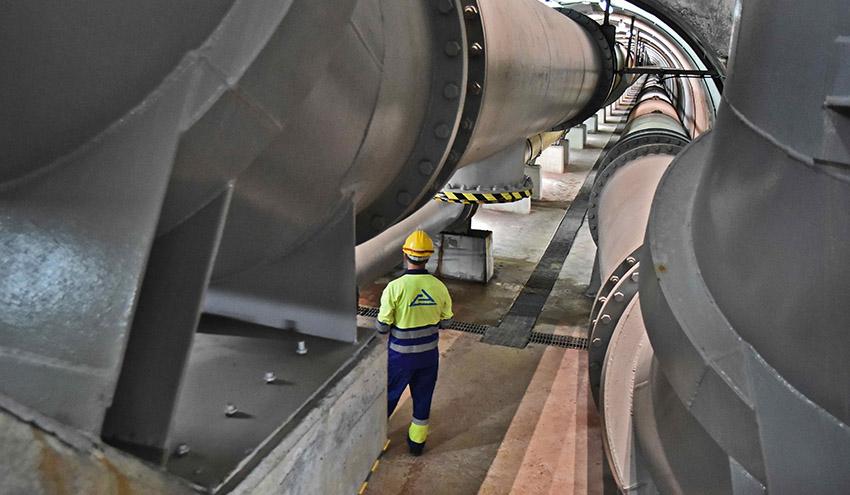 El Consorcio de Aguas Bilbao Bizkaia prevé inversiones por 500 millones de euros hasta el año 2027