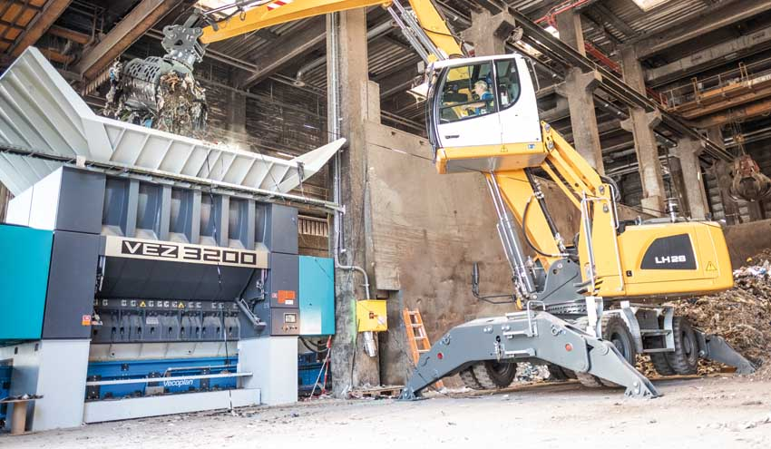 Vecoplan presenta en Pollutec su tecnología para el medio ambiente y el reciclaje