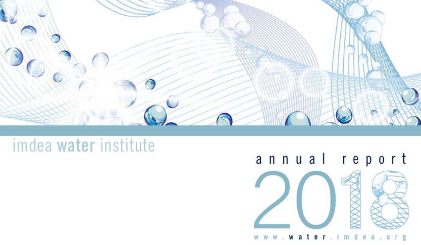 IMDEA Agua publica el informe anual de 2018