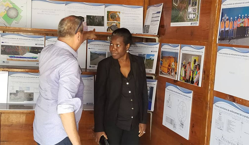 Incatema asiste a la feria del agua del Jacmel (Haití)