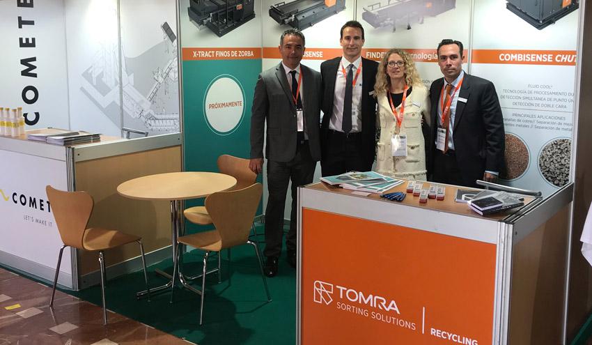 TOMRA presenta sus soluciones para separación de metales en el 17º Congreso de la FER