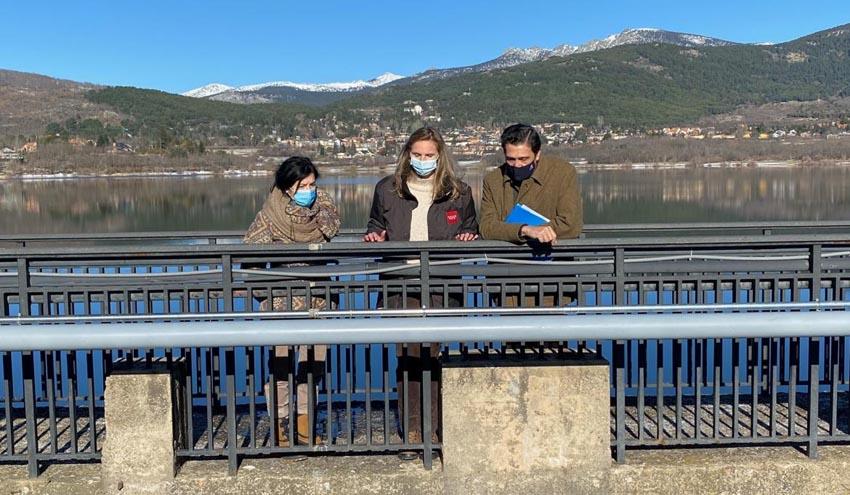 Todo a punto para recibir el agua de Filomena en los embalses de la Comunidad de Madrid