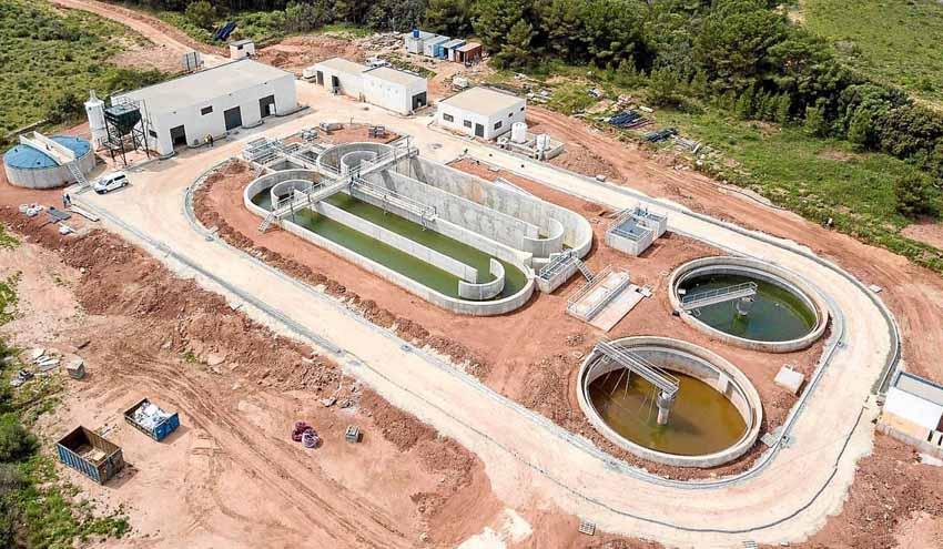 El MITECO concluye las obras de la nueva depuradora de Addaia en Menorca