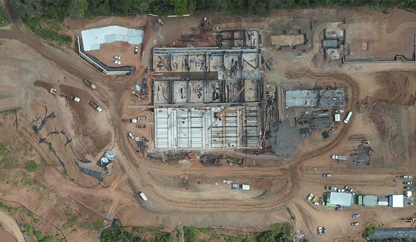 ACCIONA completa el primer año de construcción de la potabilizadora Ingeniero José G. Rodríguez en Panamá
