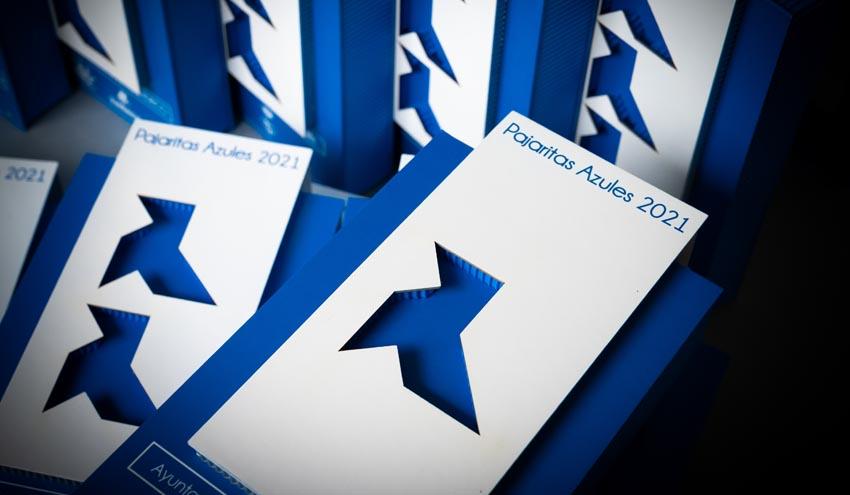 Vuelven las Pajaritas Azules de ASPAPEL: 37 entidades locales premiadas en la edición 2021