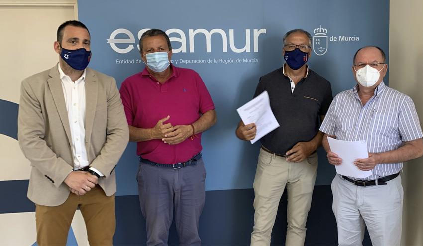 Esamur y el CTNC amplían su investigación sobre el uso de agua regenerada en agricultura