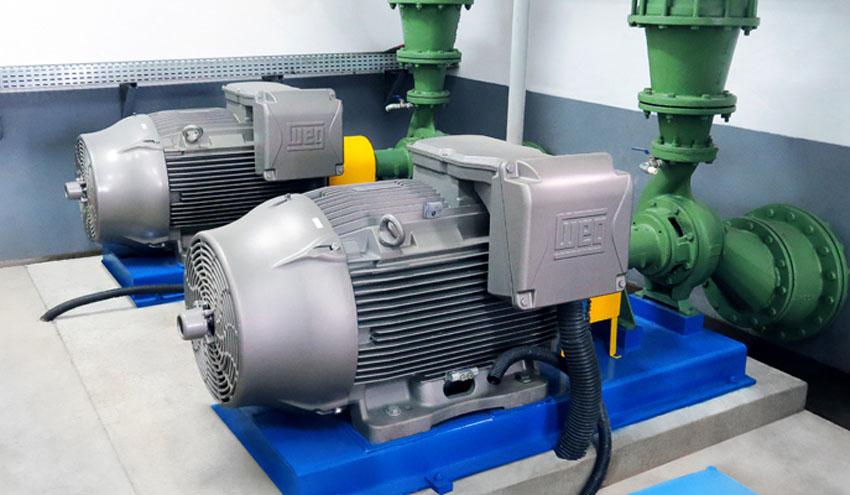WEG facilita a SAMAE un tratamiento de agua potable y aguas residuales altamente eficiente